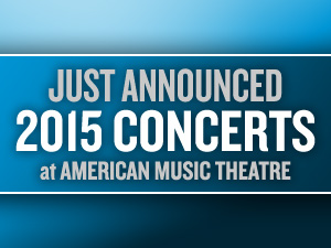 More 2015 shows announced
