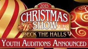 Auditions Announced