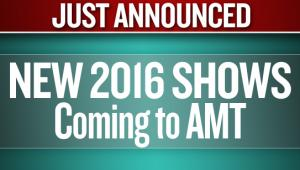 2016 Concert Announcement for American Music Theatre in Lancaster, PA