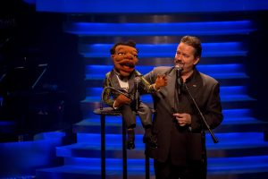 Terry Fator performing