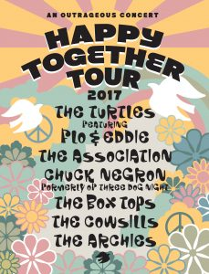 Happy Together Tour Flyer