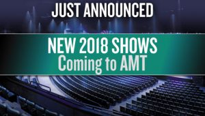 just announced new 2018 shows