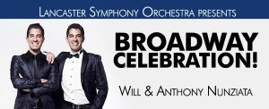 lancaster symphony orchestra broadway celebration button