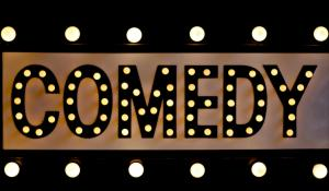 comedy shows 2018 - comedy lit up in lights